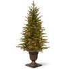 National Tree Co. Nordic 4' Green Spruce Artificial Christmas Tree with 100 Clear Lights and Stand