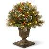 National Tree Co. Wintry Pine Pre-Lit Porch Bush