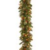 National Tree Co. Wintry Pine Pre-Lit Garland