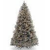 "National Tree Co. Downswept Douglas 7.5"" Blue Fir Artificial Christmas Tree with 750 Clear Lights and Stand"