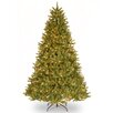 National Tree Co. Grande Fir 7.5' Green Artificial Christmas Tree with 750 Clear Lights and Stand