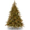 National Tree Co. Fraser 6' Green Artificial Christmas Tree with 800 LED Multi Lights and Stand