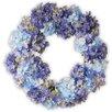 "National Tree Co. 25"" Hydrangea Wreath"
