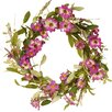 """National Tree Co. 20"""" Floral Wreath with Daisy and Lavender"""