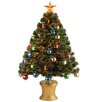 "National Tree Co. Fiber Optics 3"" Firework Artificial Christmas Tree and Stand"