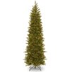 National Tree Co. 7.5' Green Fir Artificial Christmas Tree with 350 Incandescent Colored and Clear Lights with Stand