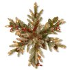 National Tree Co. Decorative Snowflake with Frosted Tips
