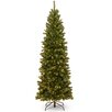 National Tree Co. North Valley Spruce 7.5' Green Spruce Artificial Christmas Tree with 400 Clear Lights with Stand