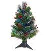 National Tree Co. 2' Fiber Optic Crestwood Spruce Christmas Tree