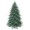 National Tree Co. 7.5' Blue Spruce Artificial Christmas Tree with 750 Incandescent Clear Lights with Stand