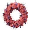 National Tree Co. Easter Wreath with Lavender Burlap