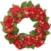 "National Tree Co. 24"" Hydrangea Wreath"