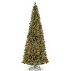 National Tree Co. 12' Glittering Pine Trees Artificial Christmas Tree with 1250 LED Colored and White Lights with Stand