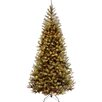 National Tree Co. Aspen Spruce 7' Hinged Artificial Christmas Tree with 400 Clear Lights