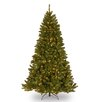 National Tree Co. North Valley 6.5' Green Spruce Artificial Christmas Tree with 450 Clear Lights