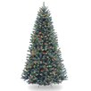 National Tree Co. North Valley 7.5' Green Spruce Artificial Christmas Tree with 700 Multicolor Lights