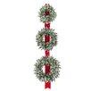 "National Tree Co. Glittery Bristle 26"" Lighted Pine Wreath"