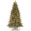 National Tree Co. Copenhagen 7.5' Spruce Artificial Christmas Tree with 600 Clear Lights