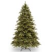 National Tree Co. Frosted Ridge 7.5' Green Fir Artificial Christmas Tree with 750 Clear Lights