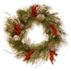 "National Tree Co. 24"" Bells and Berries Wreath"