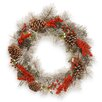 "National Tree Co. 24"" Pine Wreath"