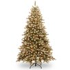National Tree Co. Adirondack 7.5' Spruce Artificial Christmas Tree with 750 Clear Lights
