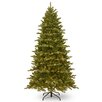 National Tree Co. Hampton 7.5' Green Spruce Artificial Christmas Tree with 550 Clear Lights