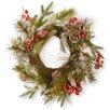 "National Tree Co. 18"" Pine Cone Wreath"