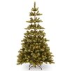 National Tree Co. Woodland Carolina 7.5' Green Pine Artificial Christmas Tree with 400 Clear Lights