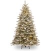 National Tree Co. Sierra 7.5' Spruce Artificial Christmas Tree with 750 Clear Lights