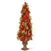 "National Tree Co. 33"" Holly and Berry Tree"