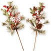 National Tree Co. Holiday Branch Spray (Set of 2)