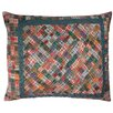 Woven Magic Patch Quilt Scatter Cushion