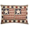 Woven Magic Stars and Stripes Americana Scatter Cushion