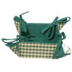 Woven Magic Country York Mini Plaid Fabric Basket
