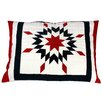 Woven Magic Patriotic Star Scatter Cushion