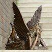 SPI Home Fairy at Rest Garden Statue