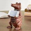 SPI Home Alligator Cell Phone Holder with Bluetooth Speaker