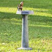 SPI Home Aluminum Thirsty Squirrel Garden Fountain