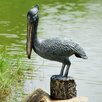 SPI Home Pelican Garden Statue with Bluetooth Speaker