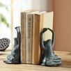 SPI Home Yoga Frog Book Ends (Set of 2)