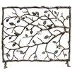 SPI Home Bird and Branch Aluminum Fireplace Screen