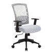 Boss Office Products Adjustable High-Back Mesh Office Chair with Arms