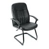 Boss Office Products Leather Guest Chair