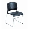 Boss Office Products Armless Stacking Chair (Set of 2)