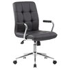 Boss Office Products Caressoft Plus Adjustable Mid-Back Office Chair