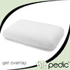 BioPEDIC Gel Overlay Comfort Bed Pillow