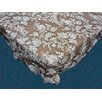 Carnation Home Fashions Floral Cheer Flannel Backed Tablecloth