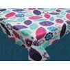 Carnation Home Fashions Spring Passion Flannel Backed Tablecloth
