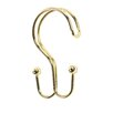 Carnation Home Fashions Double Shower Curtain Hooks